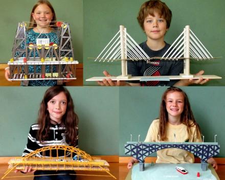 Portland Bridge collage