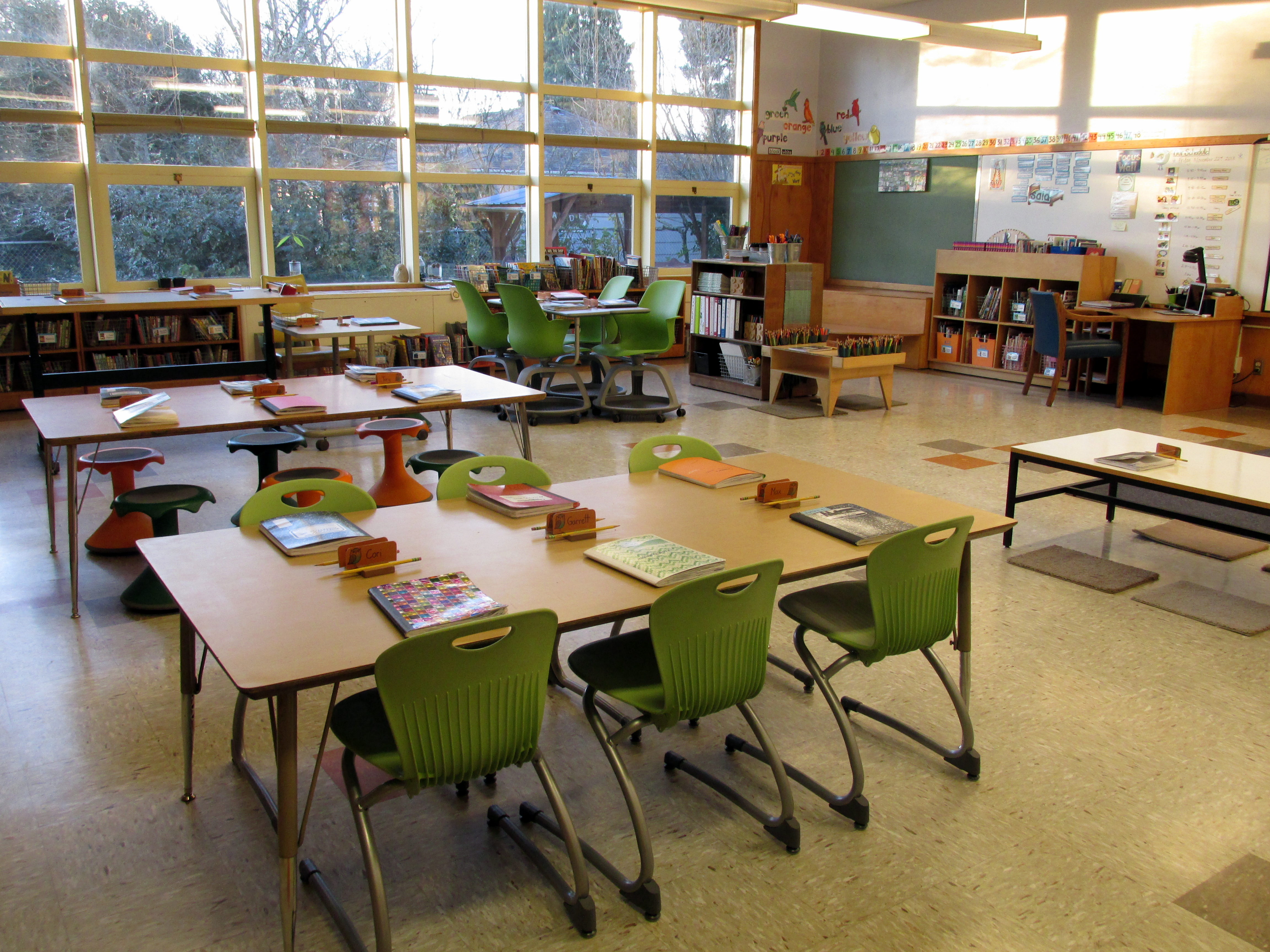 Third Grade Room 17 Configuration
